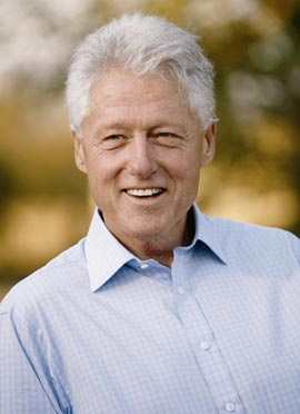 President Bill Clinton (Photo: Ralph Alswang)