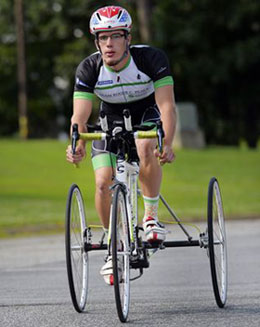Ryan Boyle will compete in International Cycling Union Para-cycling Road World Championships in Greenville Aug. 28-Sept. 1. (Photo by Mykal McEldowney/Greenville News)