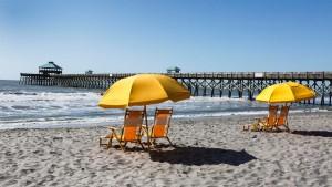 Folly Beach in South Carolina