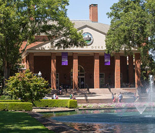 The James B. Duke Library at Furman is named for Mr. Duke.