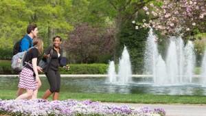 Furman University fountains